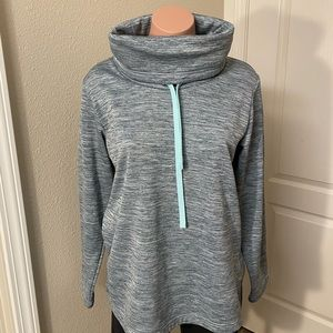 Columbia Blue Athletic Pullover Sz S